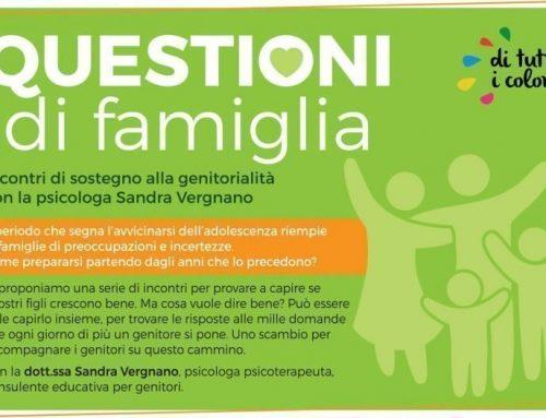 Questioni di famiglia con Sandra Vergnano