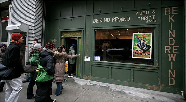 Be kind rewind in Pino: La prima