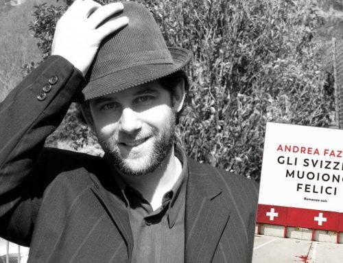 """Andrea Fazioli presenta """"Gli Svizzeri muoiono felici"""" – PINOIR – 28/11/2019"""