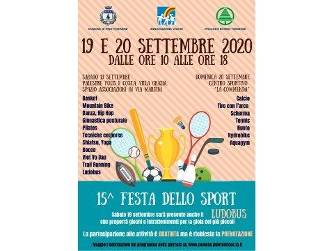 festa dello sport Pino Torinese 2020